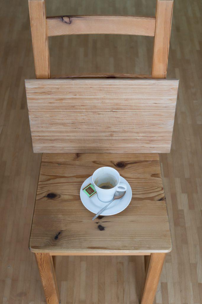 Setup für Kaffee-Foto