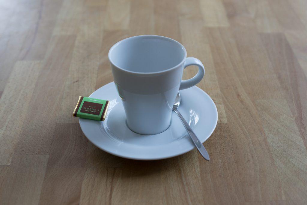 Negativbeispiel Kaffeetasse