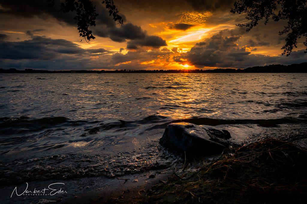 Testfoto Canon EF-M 11-22 Sonnenuntergang