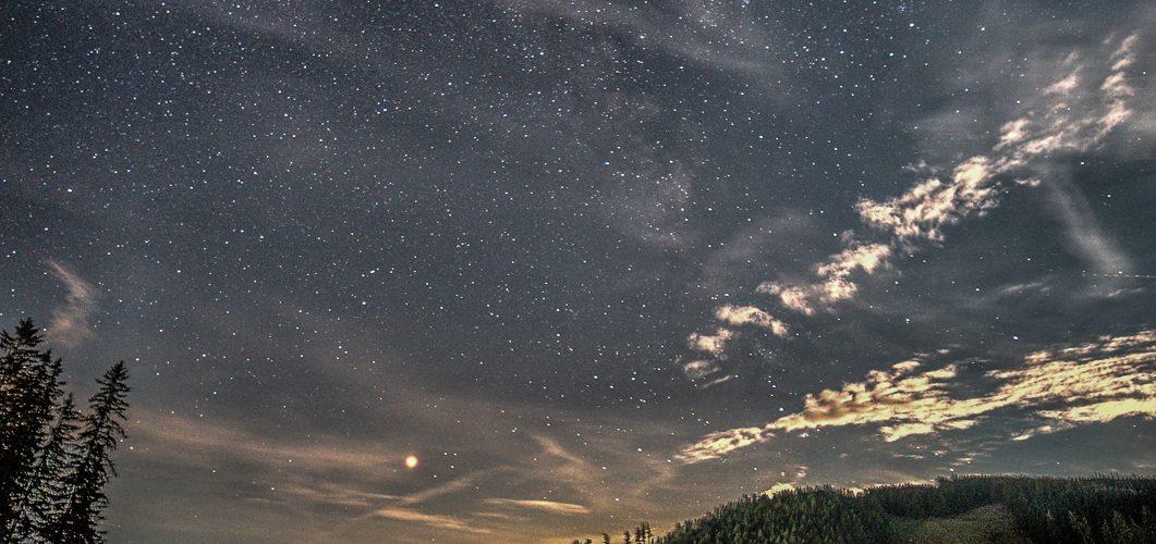 Teichalmsee unter Sternen
