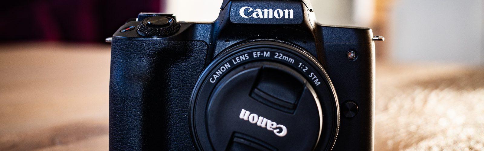 EF-M 22mm auf Canon EOS M50