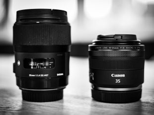Sigma 35mm 1.4 Art | Canon RF 35mm 1.8 IS STM
