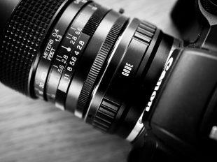 Canon EOS M50 und Vivitar 35mm 2.8