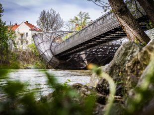 Grazer Murinsel | fotomontag | Norbert Eder Photography