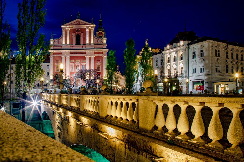 Tromostovje & Franziskanerkirche - Ljubljana - Norbert Eder Photography