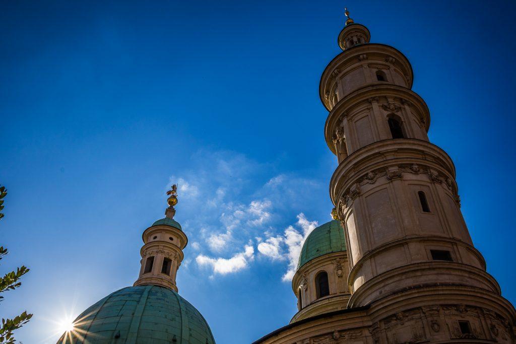 Grazer Domkirche und Blendenstern | Norbert Eder Photography