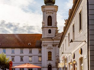 Mariahilferkirche Graz   fotomontag   Norbert Eder Photography