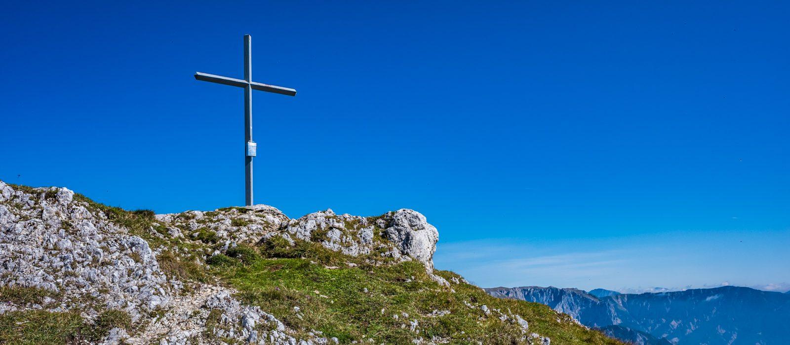 Gipfelkreuz Meßnerin | Norbert Eder Photography
