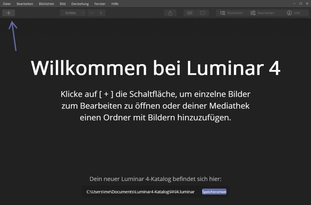 Bessere Benutzerführung in Luminar 4
