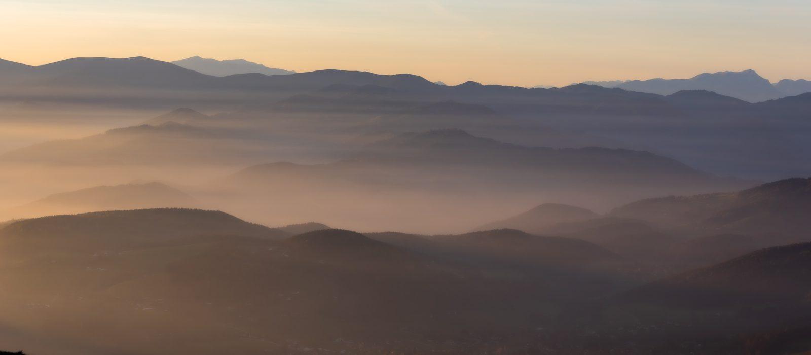 Keine Landschaftsfotografie ohne Teleobjektiv