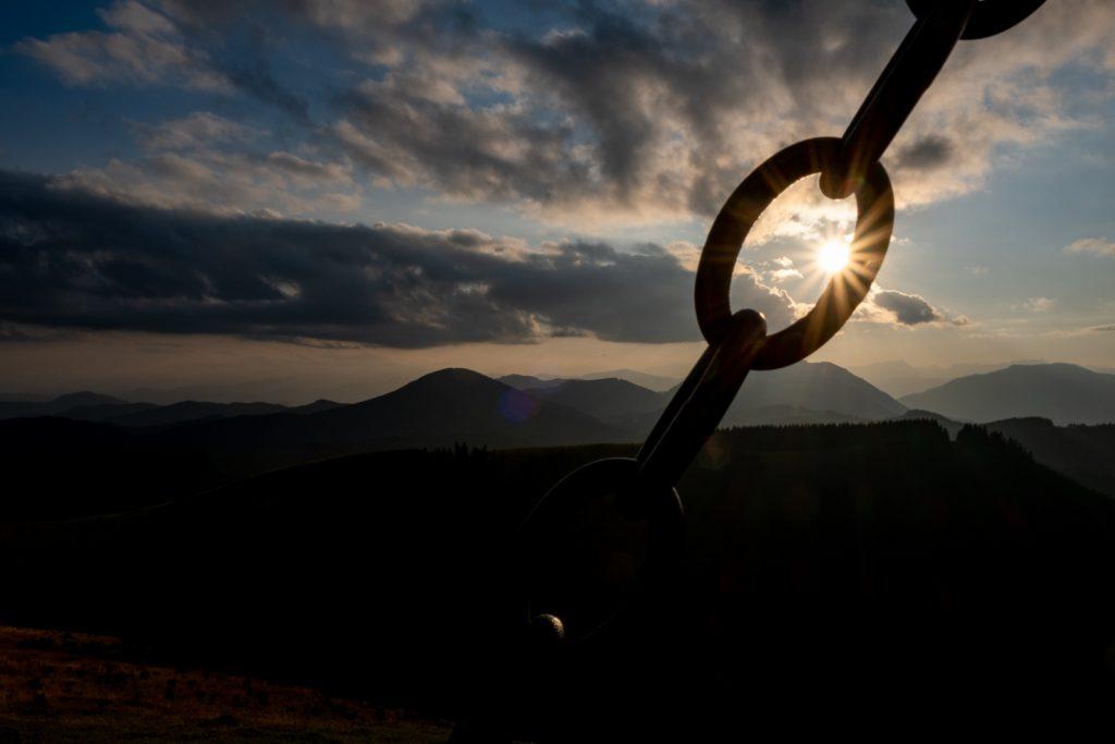 Plankogel Sonnenuntergang