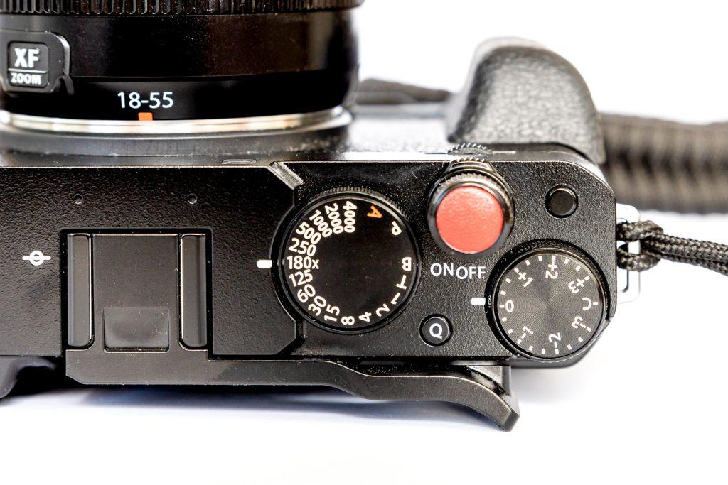 Fujifilm X-E4 Einstellräder