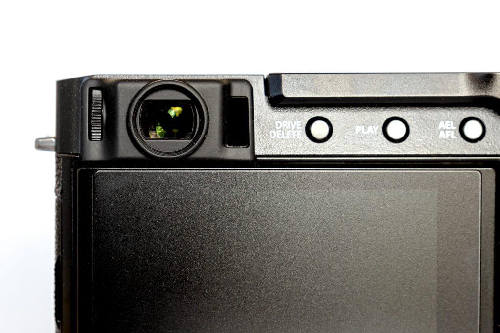 Fujifilm X-E4 Sucher